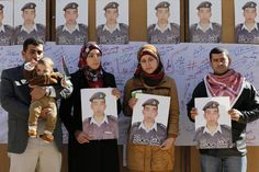 We can put man on the moon but We can't stop man on earth?  Islamic State video purports to show Jordanian pilot burnt alive...... Relatives of Islamic State captive Jordanian pilot Muath al-Kasaesbeh - REUTERS/Muhammad Hamed