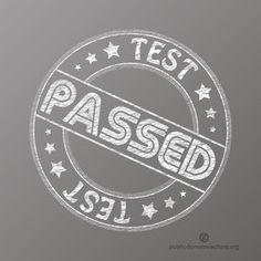 Test passed vector seal