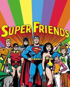 Super Friends was DC Comics' Justice League as a Saturday morning cartoon. This book was a tabloid-size salute to the show by its character designer Alex Toth. Cartoon Cartoon, Vintage Cartoon, Cartoon Shows, Reading Cartoon, Cartoon Characters, Happy Cartoon, Old School Cartoons, Cool Cartoons, Cartoons From The 80's