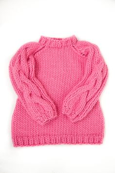 Found the ultimate pink knit. I love mr mittens.
