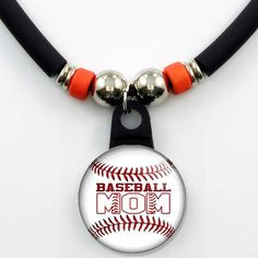 Baseball Mom Necklace The Perfect Gift by SpotLightJewels on Etsy, $12.99