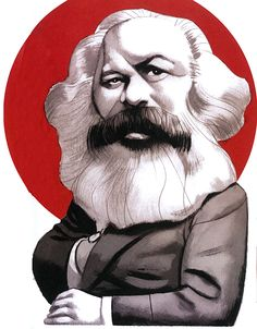"""Illustratios for """"The Communist Manifesto"""" Karl Marx and Friedrich EngelsEd. Karl Marx, Sociology Theory, Sculpture Museum, Celebrity Caricatures, Religious Studies, Illustration Art, Character Design, History, Artist"""