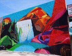 #tbt @codak_smith's Waterfall Mural in collaboration with @mymorningjacket X @capitolrecords #beautifyearth #streetart #streetphotography #sprayart  #urbanart #urbanwalls #wallporn #graffitiigers #stencilart #art #graffiti #instagraffiti #instagood #artwork #mural #graffitiporn #photooftheday #stencil #streetartistry #stickerart #pasteup #instagraff #instagrafite #streetarteverywhere