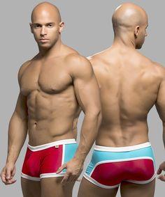 Andrew Christian Bahia Trunk with Show-It Designer Guys Swimwear