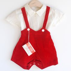 Vintage baby / toddler boy's outfit. I want this for my future baby boy, (if I have a boy).