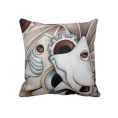 The Universe Abstract Design Throw Pillow By SimonaMereuArt $63.50