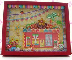 Circus Tent 3d Altered Frame by FizzPopBang, via Flickr