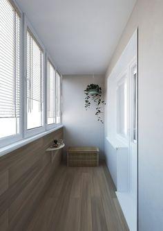 Отделка балкона фото — внутренняя отделка и утепление балкона Balcony Design, Living Room Designs, Interior Decorating, Sweet Home, New Homes, Stairs, House Styles, Furniture, Home Decor