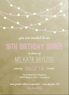 Pink And Gold 1St Birthday Invitations was best invitation sample