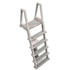 Buy Confer HD Above-Ground Inches Swimming Pool Ladder, Gray (Open Box) at Wish - Shopping Made Fun