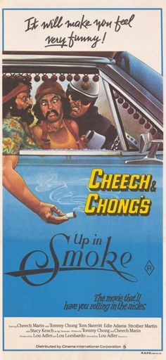 Y1265 Art Wall Poster UP IN SMOKE Movie Cheech and Chong Weed
