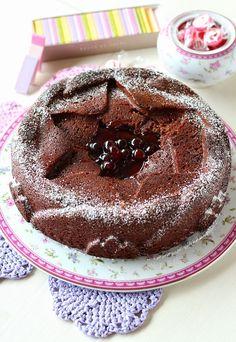 Torta al cioccolato e marmellata | Chiarapassion