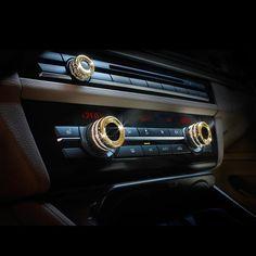 7a18cb4640d8 Car AC Air Condition Knob Trim for BMW 3 4 5 6 7 Series X3