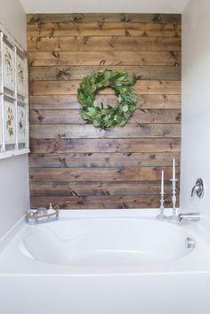 A Builder-Grade Bathroom Gets a Rustic Makeover for $375 - Budget Bathroom Renovations