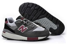 http://www.japanjordan.com/new-balance-998-classics-mens-grey-burgundy.html NEW BALANCE 998 CLASSICS MENS GREY BURGUNDY ホット販売 Only ¥7,598 , Free Shipping!