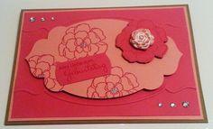 Tanja´s Stempel Zauberland: Geburtstagskarte  Papier/Farbe: Kandiszucker, Rhab...
