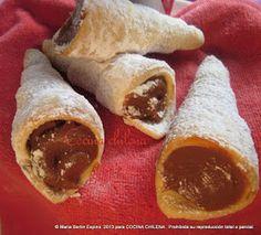 Uno de los típicos dulces que consumismo en fiestas patrias  En Chile las fiestas patrias se celebran a lo grande