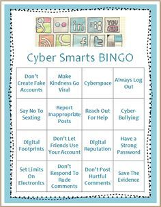 Cyberbullying - this is an awesome fun game for kids to play to familiarize themselves with cyberbullying