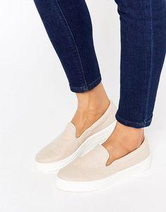 Image 1 of ASOS DOODLE Slip On Sneakers