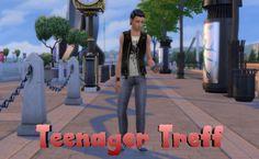 Sims 4 Welt Story – Teenager Treff | nowa24 Sims Blog The Sims, Sims 4 Stories, 4 Story, Teenager, Blog, Blogging
