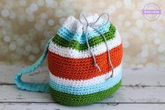 Grayson's Crochet Little Kid Backpack | Back to School Series