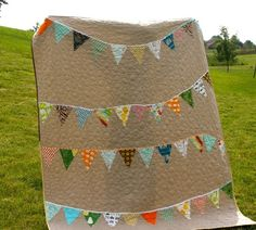 Memory quilt? 10 Modern Quilting Inspirations | Apartment Therapy