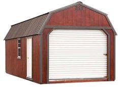 Premier Portable Buildings Lofted Barn garage