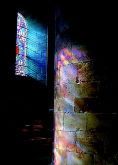 "' ""Morning Light""' Poster by Bradley Shawn Rabon Stained Glass Art, Stained Glass Windows, Window Glass, Reflection Art, Glass Marbles, Morning Light, Light And Shadow, Belle Photo, Art And Architecture"