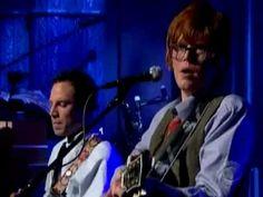 """Brett sings """"Heaven"""" on #DavidLetterman 1/2010"""