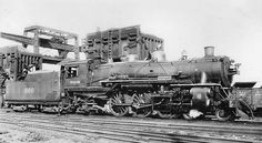 Richard Leonard's Random Steam Photo Collection -- Wabash Railroad 4-6-2 660