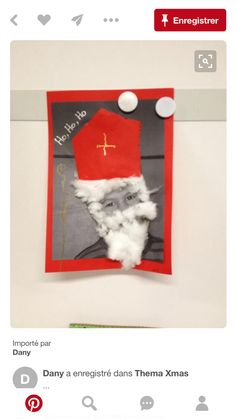 Theme Noel, Saint Nicholas, Winter Kids, Crafts For Girls, Creative Kids, Christmas Crafts, Saints, Projects To Try, Fun