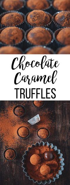 Spread some love with decadent and addictive Chocolate Caramel Truffles. They are easy to make and only require 5 ingredients!