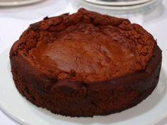 Cake trufada de chocolate