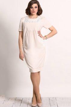 Галеан Стиль 450 Beige dress