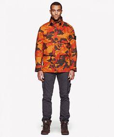 Stone Island Autumn-Winter Men's Jackets Look Book