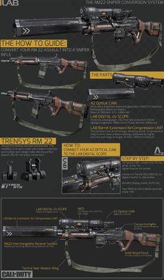 Sean Byer's RM22 rifle