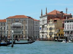 Ca'Foscari Univesity in Venice. Imagine catching the boat here ever morning - what a dream existence.