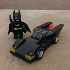 Batman & Batmobile. Darkness... No Parents!
