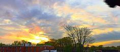 Sunrise over queens
