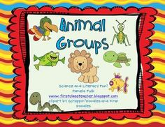 This Animal Groups unit is all about teaching the 6 main different classifications of animals - insects, amphibians, reptiles, fish, birds, and mammals $5.00