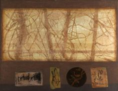 Victoria Crowe - The Scottish Gallery, Edinburgh - Contemporary Art Since 1842 London Art Fair, Collage Art Mixed Media, Encaustic Art, National Portrait Gallery, Inspirational Artwork, Modern Landscaping, Landscape Paintings, Contemporary Art, Edinburgh