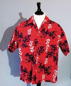 vintage 60s Hawaiian shirt