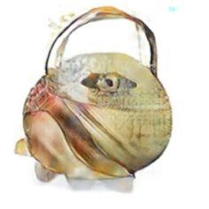 Handbag / purse prototype sketch by @imaginarybags
