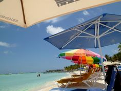 Isla Mujeres, Mexico - this is usually the location of my beach chair when on Isla