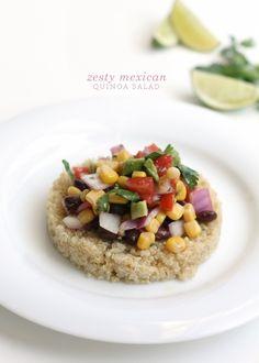Zesty Mexican Quinoa Salad