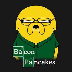 Making Bacon Pancakes