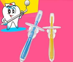 Free Dhl Fashion Safe Soft Bristle Kids Baby Teether Toothbrush Teeth Oral Care Of Babies Teething Silicone Toothbrush Kid Soothers Zj16 T03 From Seals168, $1.43 | Dhgate.Com