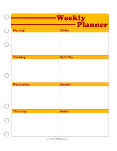 this free printable weekly planner is great for high school and college students who need to plan homework assignments projects and tests for each day of