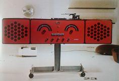 Radioadapter RR 126, Achille Castiglioni, 1966