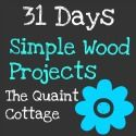 Here is today& project in the 31 Days of Simple Wood Project series. I started with two pieces of approximately long and screws t. Home Depot Projects, Diy Projects Plans, Diy Wooden Projects, Wood Shop Projects, Wooden Diy, Woodworking Projects, Eat Kitchen Sign, 1x4 Wood, Diy Bar Stools